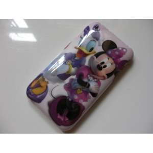 Donald Duck & Minnie Hard Cover Case iPhone 3G 3GS + Free