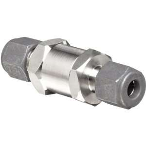 Check Valve, 10 psi Cracking Pressure, 3/8 CPI Compression Fitting