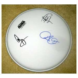 LED ZEPPELIN autographed SIGNED Drumhead  Everything