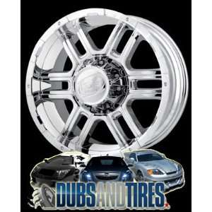 18 Inch 18x9 Ion Alloy wheels STYLE 179 Chrome wheels rims Automotive