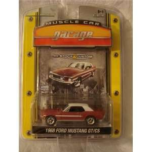 Greenlight Muscle Car Garage 1968 Ford Mustang Gt/cs Toys