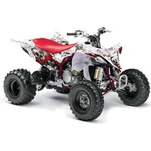 Yamaha YFZ 450 ATV Quad, Graphic Kit   Bone Collector  Automotive