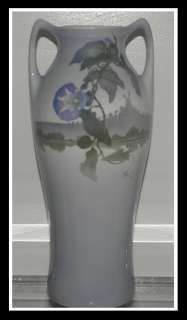 13 Antique Art Nouveau Hand Painted Royal Copenhagen Porcelain Vase