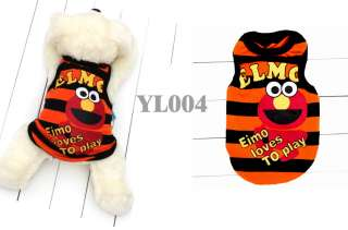 Pet Dog Coat Jacket T Shirt Vest Apparel Clothes