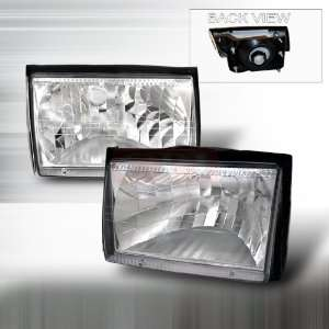 Ford Ford Mustang Crystal Headlights/ Head Lamps Euro