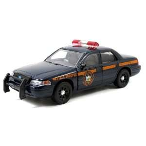 Jada 1/64 New York State Police Ford Crown Vic Toys & Games