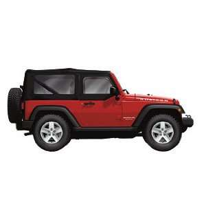 Jeep Wrangler Black Soft Top Sunrider Design Automotive