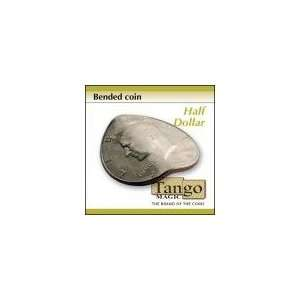 Bended Coin Half Dollar (D0098) by Tango   Trick Toys
