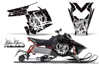 GRAPHIC DECAL WRAP KIT POLARIS RUSH PRO RMK 600/800 SLED SNOWMOBILE