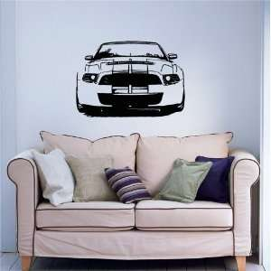 Vinyl Sticker Dealeship Car Ford Mustang Shelby A67