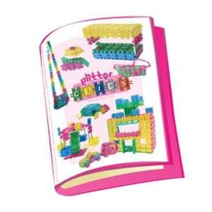 Toy Links CP006 Glittering Clics Building Plans Book Toys