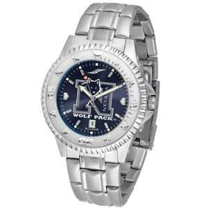 Nevada Wolf Pack NCAA Anochrome Competitor Mens Watch
