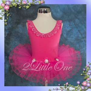Girl Ballet Tutu Dance Costume Leotard Dress Size 2T 6