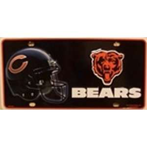 Chicago Bears NFL Football License Plate Plates Tags Tag auto vehicle