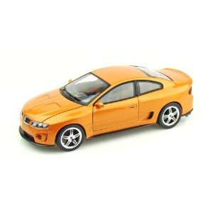 2005 Pontiac GTO Ram Air 6 1/24 Orange Toys & Games