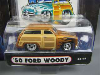50s Ford Woodies Muscle Machines Diecast Toy Cars