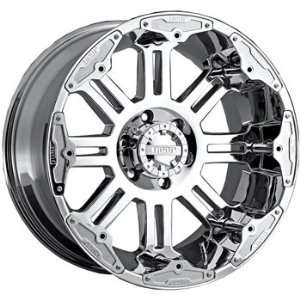 Gear Alloy Full Throttle 20x10 Chrome Wheel / Rim 6x5.5 with a  25mm