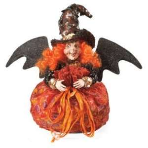 Mark Roberts Diva Witch Halloween Candy Bag   Grandin Road