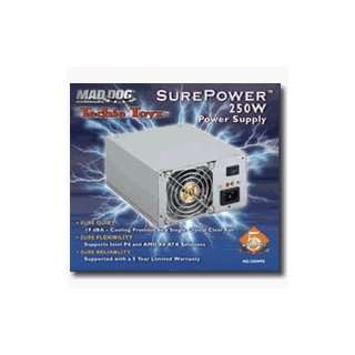 Mad Dog Multimedia SurePower 250W Power Supply (MD 250WPS