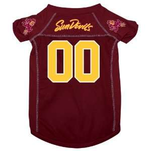 Arizona State Sun Devils Pet Dog Football Jersey LARGE v3