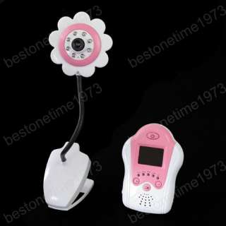 Wireless Night Vision 1.5 LCD Camera Baby Monitor Voice Control B2452