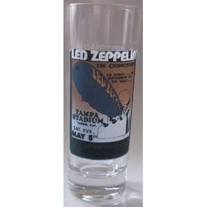 Led Zeppelin Shooter Glass Led Zeppelin in Concert