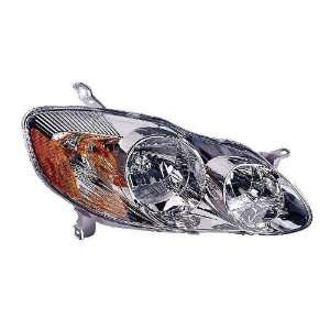 Depo 312 1160R AS1 Toyota Corolla Passenger Side Replacement Headlight