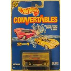 1990 Hot Wheels Convertables 2 Cars in 1 Hot Rods Shiftin
