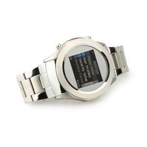Megatron 1.5 Quad Band Bluetooth Touch Screen Watch Cell Phone