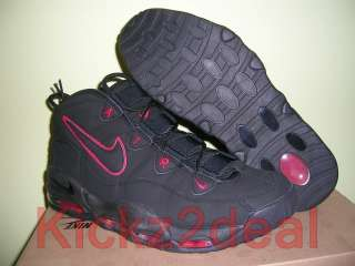 New Air Max Tempo Basketball Shoes Black/Red Uptempo Pippen 311090 002