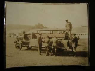 1930 US Army Soldiers Motor Transport Truck Post WW1 Photo 826S