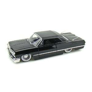 1963 Chevy Impala 1/24 Black Toys & Games