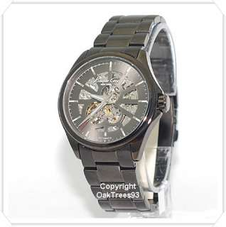 KENNETH COLE MENS AUTOMATIC GUN METAL STAINLESS WATCH KC3863