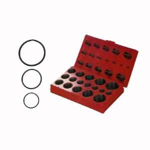 407 Piece Rubber O Ring Assortment Kit   32 SAE Sizes