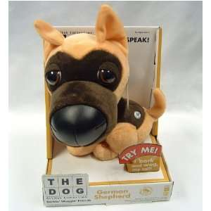 THE DOG   TALKING GERMAN SHEPHERD Toys & Games