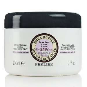 Perlier Shea Butter Body Balm with Lavender Extract Beauty