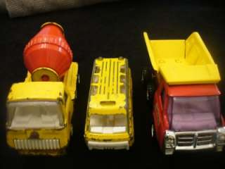 OF 3 VINTAGE METAL TRUCKS BUDDY L TONKA & 1970 TOOTSIE TOY BUS