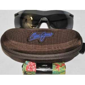 Maui Jim Breakwater 510 02 Sunglasses Black Polarized