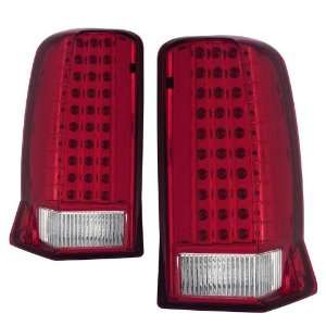 2002 2006 Cadillac Escalade KS LED Red/Clear Tail Lights W