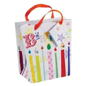 Meri Meri Small Gift Bag Birthday Candles Arts, Crafts