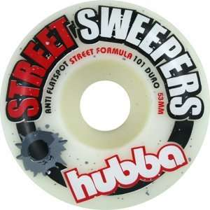 Hubba Street Sweepers 53mm Skateboard Wheels (Set of 4