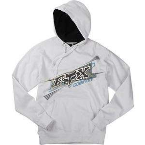 Fox Racing Dash Hoody   X Large/White Automotive