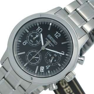 SEIKO MENS CHRONOGRAPH STEEL WATCH SSB007 NEW MODEL
