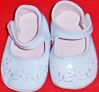 Infants/Toddlers Baby Patent White Mary Jane Dress Shoes 1