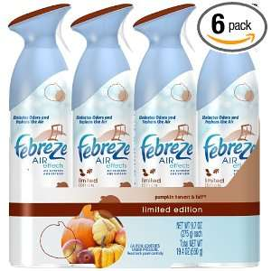febreze Air Effects, Pumpkin Harvest and Fall, 19.4 Ounce