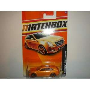 2011 Matchbox VIP Cadillac CTS Wagon Orange #37 of 100 Toys & Games