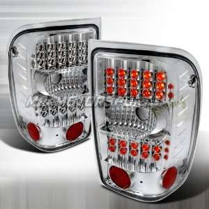 FORD RANGER G2 LED TAIL LIGHTS CHROME Automotive