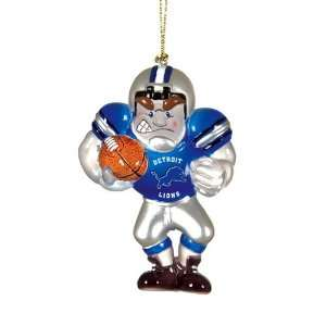 BSS   Detroit Lions NFL Acrylic Football Player Ornament