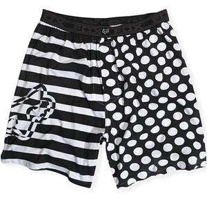 Fox Racing Split Boxer   Small/White Automotive