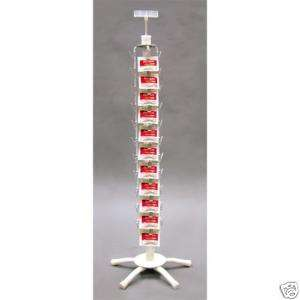 Clipper Potato Chips, Candy & Snack Counter Top Spinner Display Rack